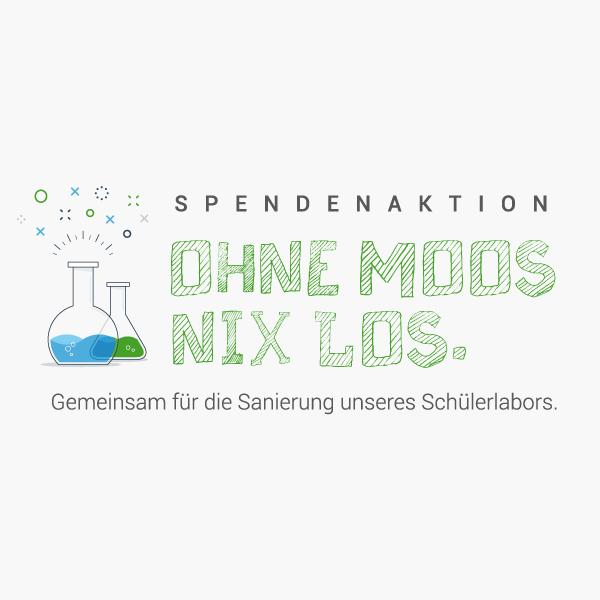 SPENDENAKTION – Gemeinsam für die Sanierung unseres Schülerlabors