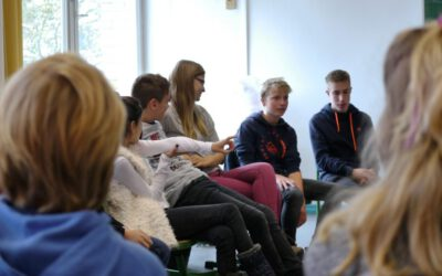 Besuch von der Evangelischen Schule Berlin-Zentrum